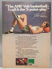 Vintage Magazine Ad Print Design Advertising AMF Voit Basketball