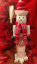 Snowman Nutcracker Peppermint Candy Gingerbread Candy DECOR Figure Snowflake