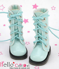 ☆╮Cool Cat╭☆【13-17】Blythe Pullip Doll Shoes Boots # Shiny Sky Blue