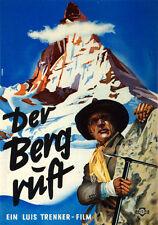 Der Berg ruft Luis Trenker Matterhorn Erstbesteigung Gipfel Film Plakate A3 242