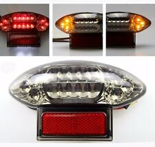 LED Tail Brake Light & Turn Signals Integrated Smoke For 2003-06 katana 600/750