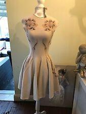 Alexander  McQueen Nude Dress Size S