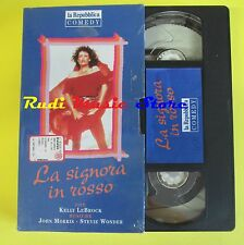 film VHS cartonata LA SIGNORA IN ROSSO kelly lebrock john wonder (F44*) no dvd