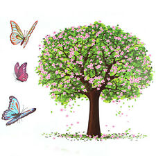 DIY Happy Tree Butterfly Removable Vinyl Wall Sticker Decal Art Home Decor Mural