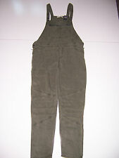 NWT Abercrombie & Fitch Allie Pants capris Overalls Jumpsuit Olive green Medium