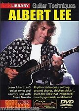 LICK LIBRARY GUITAR TECHNIQUES ALBERT LEE Learn to Play Country Styles Tutor DVD
