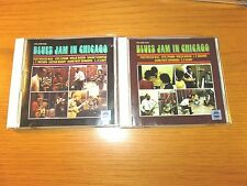 "LOT OF 2 USED / PERFECT BLUES CDs - VARIOUS ARTISTS - ""BLUES JAM IN CHICAGO"" 1/2"