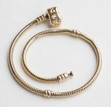 """14K Yellow Gold ALE Pandora Charm Bracelet 23cm 9.1"""""""
