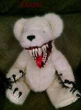 Ooak LilNightMares Horror Haunted teddy bear zombie dead doll prop