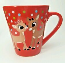 """Zak Rudolph The Red Nosed Reindeer Coffee Mug Cup Christmas Red Teacher""""s  Gift"""
