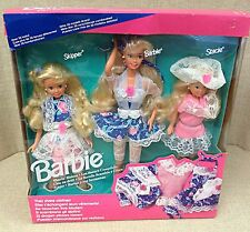 Mattel 1992 Sharin Sisters Gift Set Skipper Stacie Barbie Doll #10143 NRFB