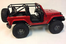 1/10 Scale R/C Axial SCX10 Jeep Wrangler Rubicon Rock Crawler project unfinished