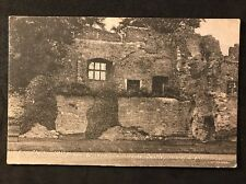 Vintage Postcard - Isle Of Wight #14 - RP King Charles 1st Window Carisbrooke
