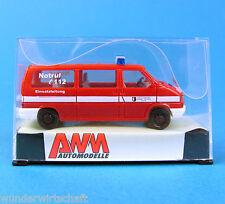 AMW H0 72289 VW T4 LR BUS Feuerwehr Halberstadt OVP HO 1:87 AWM
