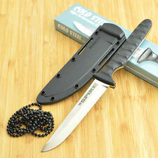 Cold Steel Drop Point Spike Neck Knife With Secure-Ex Sheath 53NCC