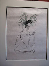 Madame Butterfly Signed Hirschfeld Limited Edition 70/100