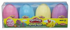 Play-Doh Spring Eggs Easter Eggs 4 pack Four different colors by Hasbro AOI