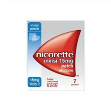 Nicorette Invisi Patches 15mg 7 Patches