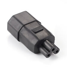 IEC 320 C13/C14 to C5/C6 Kettle Lead to Mickey Mouse PC Laptop Cable Adapter NEW