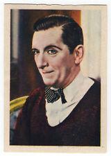 1936 Spanish Nestle Film Star Paper Thin Stamp Sticker #99 Edward E. Horton