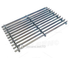 Galvanised Steel Matt Porch Door Mat And Boot Shoe Mud Snow Soil Scraper CT0841