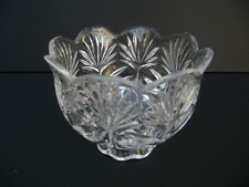 Fifth Avenue Crystal Pillar Candle Holder. New.