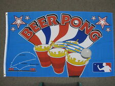 BEER PONG FLAG 3X5 FEET BANNER SIGN DRINKING GAME 3'X5' NEW F659