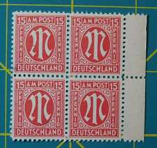 1945-46 GERMANY Stamps BRITISH AMERICAN OCCUPATION BI-ZONE, WWII