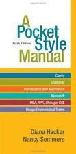 A Pocket Style Manual by Hacker, Diana, Sommers, Nancy