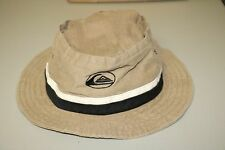Vintage Quicksilver Essentials Bucket Hat Beach Sun Sand Hike OSFA Made In USA