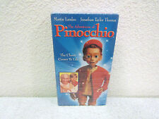 1996 The Adventures of Pinocchio Starring Jonathan Taylor Thomas VHS Video Tape