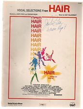 Hair Vocal Selections Sheet Music