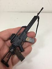 1/6 HK 293 SAR ASSAULT RIFLE CLEAR MAGS SCOPE FOLDING STOCK DRAGON DID BBI