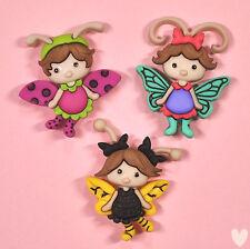 Dress IT UP pulsanti Flutter Bug 8294-Fairies FARFALLE DECORAZIONI