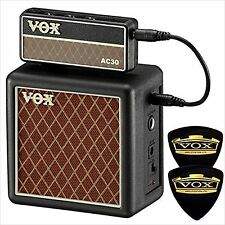 VOX tabletop mini-stack amp amPlug2 Cabinet AP2-CAB + amPlug 2 AC30 With 2 picks