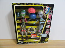 Monster High Dolls Skultimate Roller Maze 2 doll pack Ghoulia Yelps & Abbey NIB
