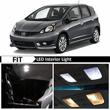 8x White LED Lights Interior Package Kit 2009-2013 Honda Fit Jazz + TOOL