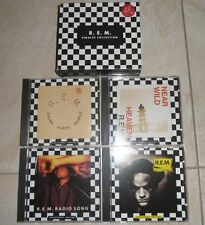 COFANETTO R.E.M. Singles Collection 4 CD REM Michael Stipe Rock Box Warner WB