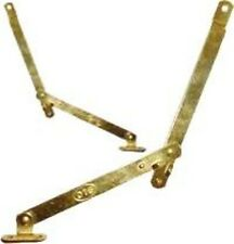 BRASS PLATED DESK DROP LID SUPPORTS    D2742