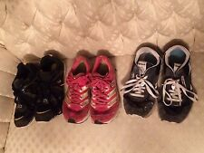 Womens Shoes Lot of 3 Adidas Baby Phat Reebok Size 8.5 Athletic Running Shoes