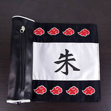 Naruto Akatsuki Uchiha Itachi Pencil Case Cosplay Pen Bag