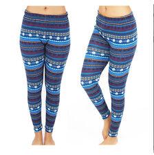 Fashion Women's Pattern Print Stretch Leggings  13 Styles