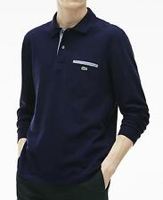 GENUINE LACOSTE LONG SLEEVE POLO - XL T6 - NAVY - BNWT - RRP £99
