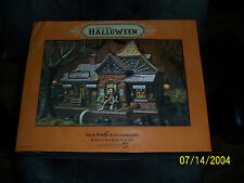 DEPT 56 HALLOWEEN VILLAGE RICKETY RAILROAD STATION