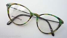 Conquistador Markenbrille große Schmetterlingsform Hornoptik bunt GR:L 52-17
