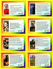 2007 World Scout Jamboree OFFICIAL LEADER & STAFF DAILY REFLECTION CARD SET