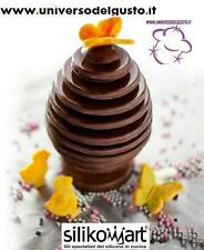 MOLD 3D EGG Choc EGGS of CHOCOLATE SILICONE Easy Choc of SILIKOMART EASTER