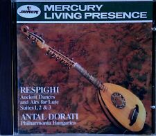 RESPIGHI / ANCIENT DANCES - ANTAL DORATI - MERCURY LIVING PRESENCE CD
