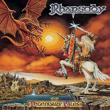 RHAPSODY - Legendary Tales CD 1997 Free Sticker Luca Turilli Ancient Bards