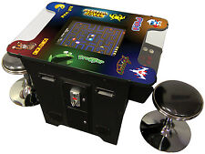 FULLY-LOADED COMMERCIAL UPGRADED VIDEO ARCADE COCKTAIL TABLE Multigame 80s games